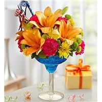 it-s-my-birthday-flower-arranged-in-a-margarita-glass